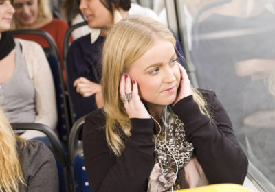 Relacher la tension dans les transports en commun