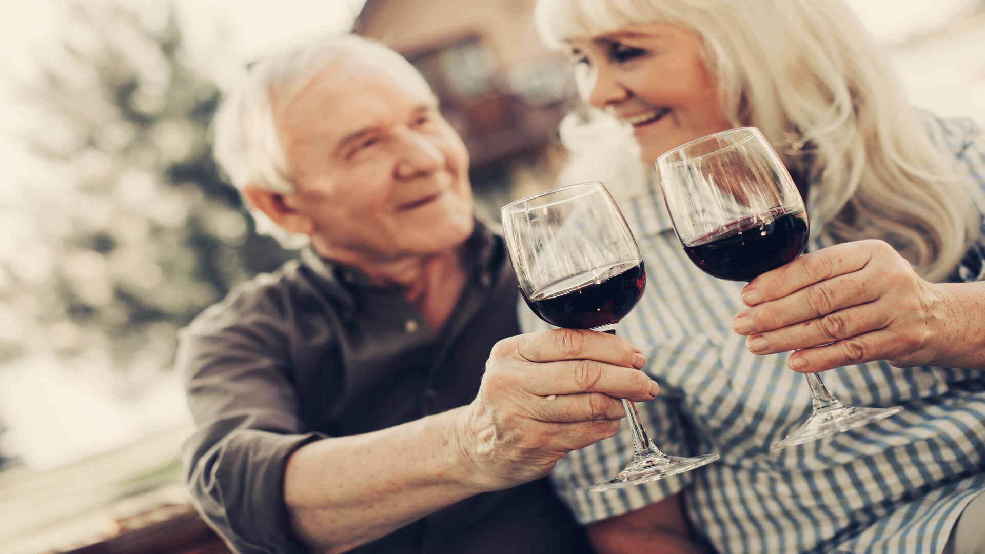 Limitez-vous à un verre de vin