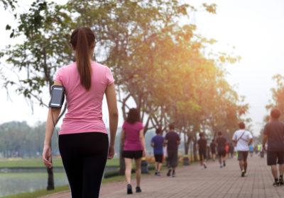 Marcher 1 kilomètre par jour pour rester en bonne santé