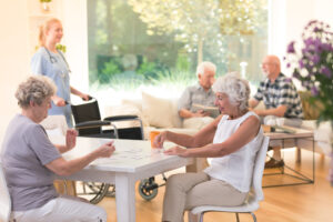 Une maison de retraite en 2021